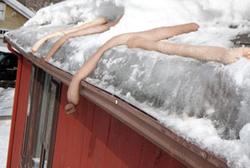 ice-dam-sock
